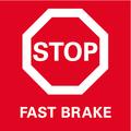 Fast Brake инерционный тормоз выбега для максимальной безопасности благодаря быстрой остановке инструмента.