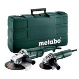 Набор болгарок METABO WE 2200-230 + W 750-125 + Пластиковый кейс, SET (685172500)