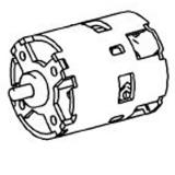 Мотор METABO для ударных дрелей-шуруповертов SB 18 LT (317004260)