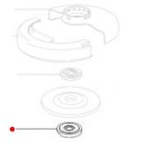 Втулка подшипника METABO для угловых шлифмашин W 18 LTX 125 Inox (341005860)