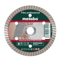 Алмазный отрезной круг METABO, диам. 76х10,0 мм, «TP», ПЛИТКА «PROFESSIONAL» (626874000)