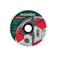 Диск отрезной METABO  LE Soccer 125x1,0x22Inox (616259000)