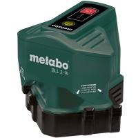 Линейный нивелир строительный METABO BLL 2-15 (напольный)