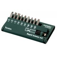 Набор инструментальных насадок METABO Torsion 10 предметов (625390000)