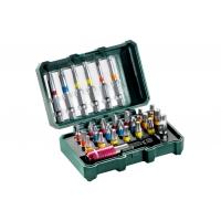 """Коробка с насадками METABO """"SP"""" 29 предметов (626710000)"""