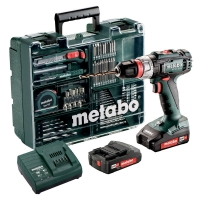 Дрель-шуруповерт аккумуляторный METABO BS 18 L Quick Mobile Workshop (602320870)
