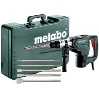 Перфоратор комбинированный METABO KH 5-40 Set + набор зубил 5 шт. (691057000)