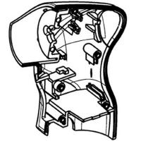 Корпус с крышкой METABO для дрелей-шуруповертов PowerMaxx (343392040)