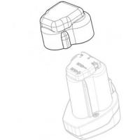 Крышка аккумуляторного блока METABO для дрелей-шуруповертов PowerMaxx, ударных гайковертов (343446880)