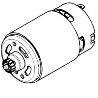 Мотор с шестерней METABO 10.8 V для дрелей-шуруповертов PowerMaxx (317004310)