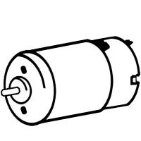 Мотор METABO 7,2V для дрелей-шуруповертов PowerMaxx, PowerGrip (317003400)