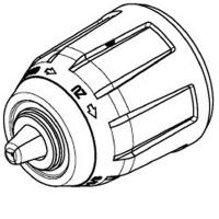 Бесключевой патрон METABO для дрелей-шуруповертов PowerMaxx BS (301003340)