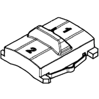 Переключатель-слайдер METABO для дрелей-шуруповертов BS 18; BS 14.4; SB 18 (316050450)
