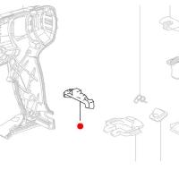 Пластина фиксации METABO для дрелей-шуруповертов BS; SB 18; ударных гайковертов (343394770)
