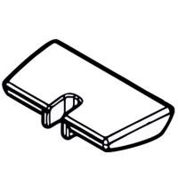 Ползунок переключателя METABO (право + лево) для дрелей-шуруповертов BS 18; BS 14.4; BS 12 NiCd; SB 18 (343395070)