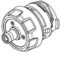 Редуктор в сборе METABO для дрелей-шуруповертов PowerMaxx, BS 18 (316066870)