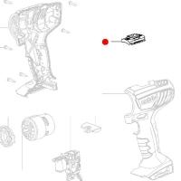 Переключатель-слайдер METABO (лево/право) для дрелей-шуруповертов BS 18; BS 14.4 (343430900)