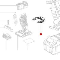 Блокировка METABO для дрелей-шуруповертов BS; SB; дрелей BE; ударных гайковертов (343433300)