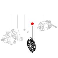 Фланец двигателя METABO для дрелей-шуруповертов BS 18; BS 14.4; SB 18; SB 14.4 (343393960)