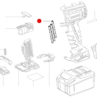 Изолирующие трубки METABO для дрелей-шуруповертов BS; SB; ударных гайковертов (339040970)