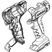 Корпус с крышкой METABO для дрелей-шуруповертов PowerMaxx (343447710)