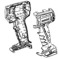 Корпус с крышкой METABO для дрелей-шуруповертов BS 18; SB 18 (343432480)
