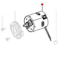 DC-мотор14,4 V METABO для дрелей-шуруповертов BS 14.4 (317003660)