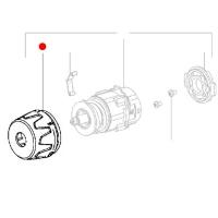 Переключатель (муфта) METABO для дрелей-шуруповертов BS 18; BS 14.4; BS 12 NiCd (343397170)