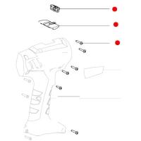 Набор винтов + переключатель METABO для дрелей-шуруповертов BS 12 (316051890)