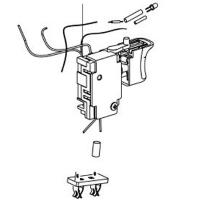 Электронный переключатель в сборе METABO для дрелей-шуруповертов BS 12 NiCd (343409880)