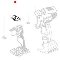 Переключатель-слайдер METABO (лево/право) для дрелей-шуруповертов  BS ; SB; ударных гайковертов SSD; SSW (343394800)