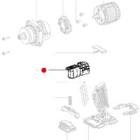 Переключатель METABO для дрелей-шуруповертов BS; SB; ударных гайковертов (343410550)