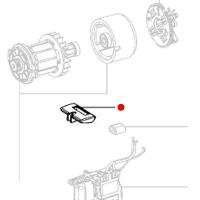 Переключатель-слайдер (право/лево) METABO для дрелей-шуруповертов BS 18; SB 18 (343433250)