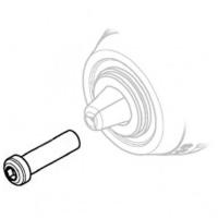Винт патрона METABO для ударных дрелей-шуруповертов PowerMaxx SB (341722830)