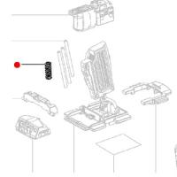 Зажимная пружина METABO для дрелей-шуруповертов BS 18; SB 18 / дрелей BE (342003030)