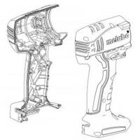 Корпус с крышкой METABO для ударных гайковертов SSD; SSW (343397360)