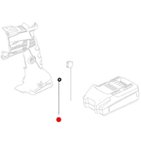 Зажимная пружина METABO для дрелей BE (342003950)