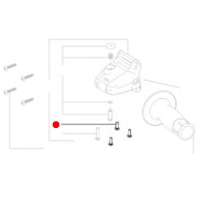 Винт с цилиндрической головкой METABO для угловых шлифмашин W 18 LTX 115 (141124090)