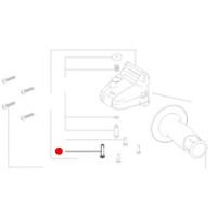 Винт с цилиндрической головкой Duo-Taptite METABO для угловых шлифмашин  W 18 LTX 115 (141123920)