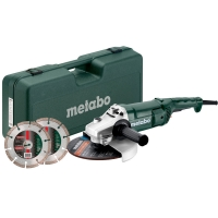 Угловая шлифовальная машина METABO WE 2200-230,Set (691081000)