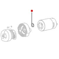 Фланец двигателя METABO для ударных гайковертов PowerMaxx SSD (316052080)