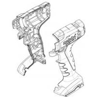 Корпус редуктора METABO для ударных гайковертов PowerMaxx SSD 12 (343447750)