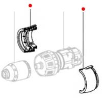 Крышка мотора METABO для ударных дрелей-шуруповертов SB 18 (343001040)