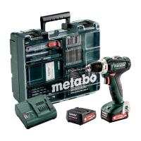 Дрель-шуруповерт аккумуляторная METABO PowerMaxx BS 12 Set (601036870)
