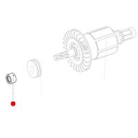 Сальник (KHE 2443, 2243, 2643) METABO для ударных дрелей-шуруповертов SBE 18 LTX (343398310)