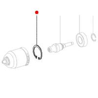 Стопорное кольцо METABO для дрелей BE 18 LTX 6 (141181680)
