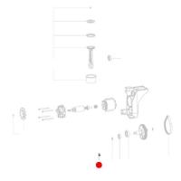 Винт с полупотайной головкой METABO для компрессоров Power 160-5 18 LTX BL OF (141110590)