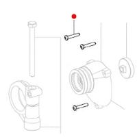 Винты со сферо-цилиндрической головкой METABO для дрелей BE; угловых шлифмашин W, WF, WPF, WPB; кромкофрезеров KFM; ленточных шлифмашин BF (141117060)