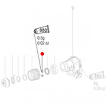 Шарикоподшипник 7 мм METABO для перфораторов BHA (143120320)