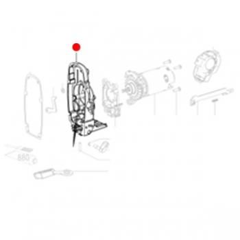 Корпус редуктора METABO для лобзиков STA (316050320)